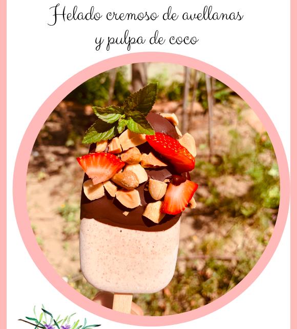 helado cremoso saludable